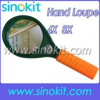 Buy cheap 4x and 6x optical grade lenses Magnifying Glass MG89075 from wholesalers