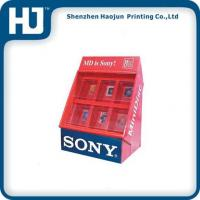 Wholesale Creative PDQ Floor Corrugated Cardboard Counter Display Boxes For Sony from china suppliers