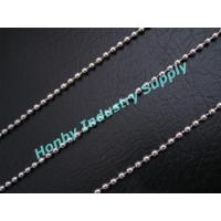 Buy cheap Fasthion 3.2mm silver color jewelry metal ball chain from wholesalers