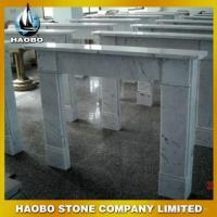 Buy cheap White Marble Simple Cheap Fireplace from wholesalers