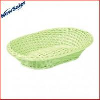 Buy cheap PP rattan oval display basket from wholesalers