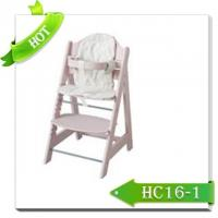 New Restaurant Style Baby Chair Wooden High Chair