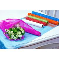 Flower Wrapping Materials organza by the roll Dot Foamed Organza Rolls Manufactures