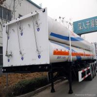 Wholesale Large Capacity 6-CNG-tube skid container type semi-trailer from china suppliers