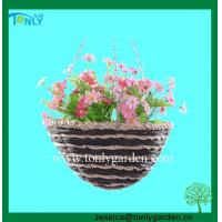 Buy cheap Rattan Hanging Plant Baskets from wholesalers