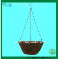 Buy cheap Hanging Willow Flower Basket from wholesalers
