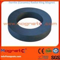 Buy cheap Radial Hard Ferrite Ring Magnet from wholesalers