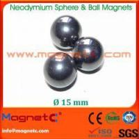 Buy cheap 15mm Neodymium Sphere Magnets from wholesalers