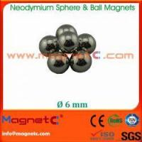 Buy cheap NdFeB Sphere Magnets from wholesalers