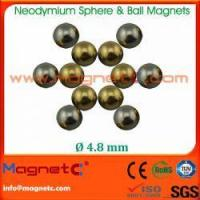 Buy cheap Small Sphere Shape Neo Magnets from wholesalers