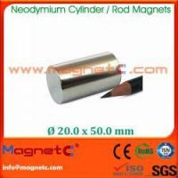 Buy cheap Rod/Cylinder Neodymium Magnet from wholesalers