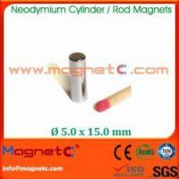 Buy cheap Cylinder Shape Ni Coated Neodymium Magnet from wholesalers