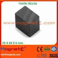 Buy cheap Block Shaped Ferrite Magnets from wholesalers