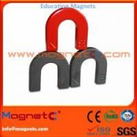 Buy cheap Ferrite Horseshoe Magnets from wholesalers