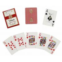Buy cheap Jumbo index plastic playing cards from wholesalers