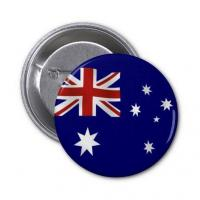 Wholesale Australia Flag Tin Badge from china suppliers