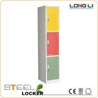 Buy cheap Products  customized 3 doors steel wardrobe lockers for sale from wholesalers