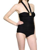 Buy cheap removable neck halter one piece swimwear S14-SW166 from wholesalers
