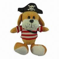 Buy cheap Plush Toy Pirate Dog from wholesalers