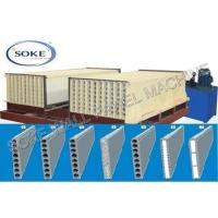 Buy cheap 20 Battery Mould Hollow Core Wall Panel Machine from wholesalers