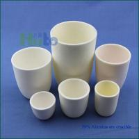 Buy cheap HUTO 99% Al2O3 crucible Alumina crucible Ceramic crucible from wholesalers