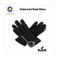 Wholesale cotton lint touch screen glove for all touch screen device like smart phone and keep warm from china suppliers