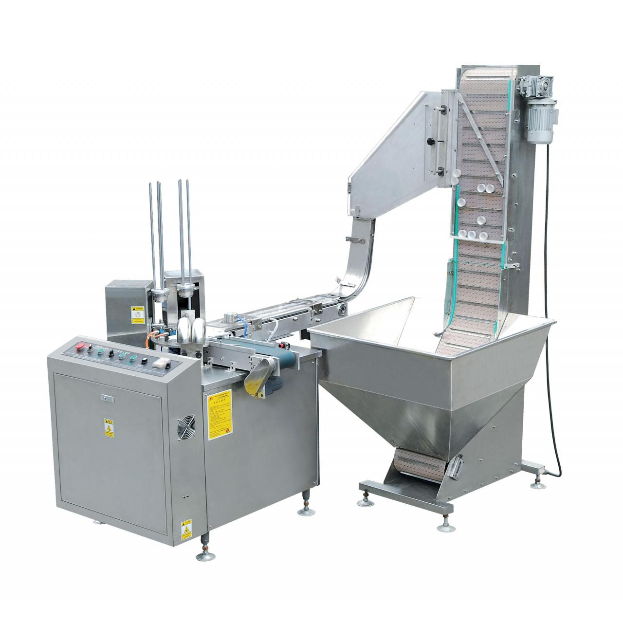 Double head Cap lining machine HENS-SD3C Manufactures