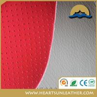 Buy cheap High quality car seat PVC coated leather from wholesalers