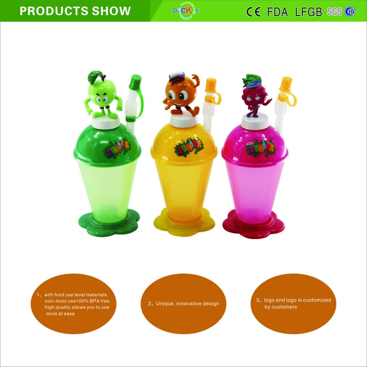 Wholesale new design straw cup for children from china suppliers