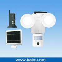 Buy cheap Solar PIR Sensor LED Security Light With DVR System from wholesalers