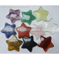 Buy cheap Semi-precoius Stone / loose stone gemstone 30mm star shape cabs ItemFR11111 from wholesalers