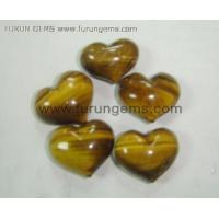 yellow tiger eye puff heart Manufactures