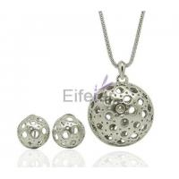 Buy cheap Wholesale platinum plating bell Jewelry Set with Wild Unisex Temperament Gorgeous for Gift from wholesalers