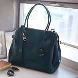 Buy cheap Hot Tote Messenger leather handbags oil wax cowhide bag 13109 from wholesalers