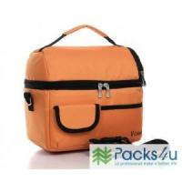 Buy cheap picnic lunch bag insulated cooler bag two compartments lunch box from wholesalers