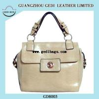 Beige Popular Leather Bags 2014