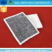 Buy cheap GCL Geosynthetic Clay Liner bentonite geotextile hydrain mat from wholesalers