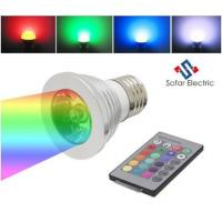 Buy cheap 3W Remote Control LED Spot Bulbs 16 colors from wholesalers