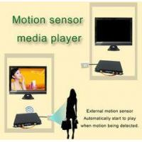 Portable Motion Sensor LCD Display Advertising Media Player For Restaurant Table Manufactures
