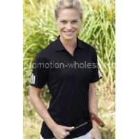 Wholesale Women's ClimaLite3-Stripes Cuff Polo from china suppliers
