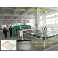Buy cheap latex sheet mattress production line from wholesalers