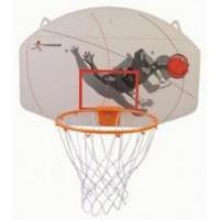Basketbal-Bord ABS 90x60 met ring 16 mm. * verwacht week 35 *HOT Sports + Toys Manufactures