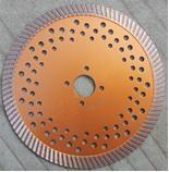 Wholesale Sintered turbo hot pressed narrow turbo rim blades for granite from china suppliers