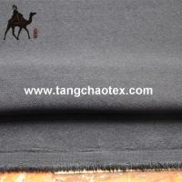 China woven/twill fabric made from 100%recycle polyester/RPET for men garment on sale