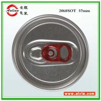 Wholesale Aluminum beverage lid 206#SOT 58mm from china suppliers