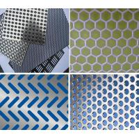 Buy cheap Aluminum Perforated Panel Aluminium perforated ceiling metal wall cladding panels from wholesalers