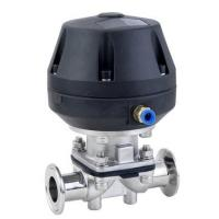 China Sanitary Stainless Steel Pneumatic Diaphragm Valve with Sample on sale