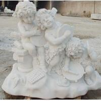 Buy cheap Stone Carving children stone statue from wholesalers