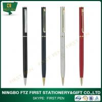 Buy cheap Slim Metal Promotional Pens As Hotel Business Items from wholesalers