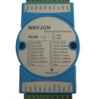 Wholesale Analog I/O Modules 8-CH Analog Signal to RS485/232 Module with Modbus from china suppliers